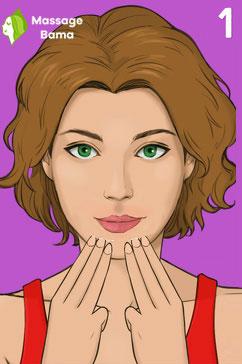 آموزش ماساژ برای درشت شدن لب