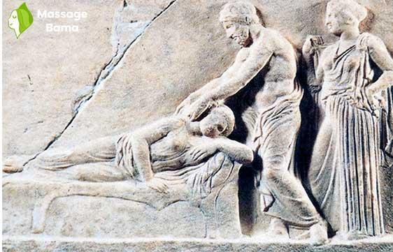 تاریخچه ی ماساژ